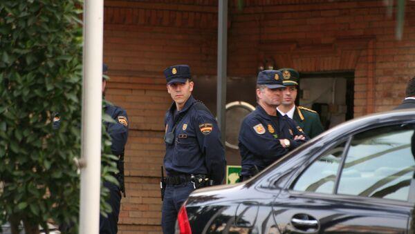 Испанская полиция. Архив