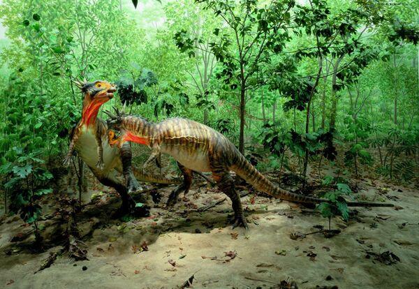 Динозавры Stygimoloch spinifer