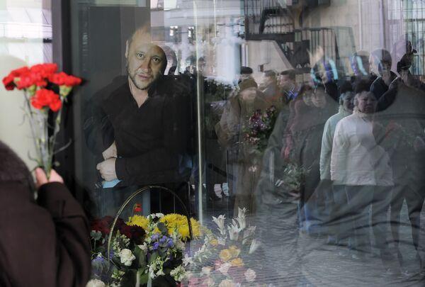 Прощание с актером Юрием Степановым в театре Мастерская Петра Фоменко
