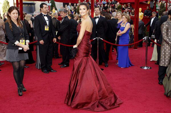 Пенелопа Крус на церемонии вручения премии Оскар