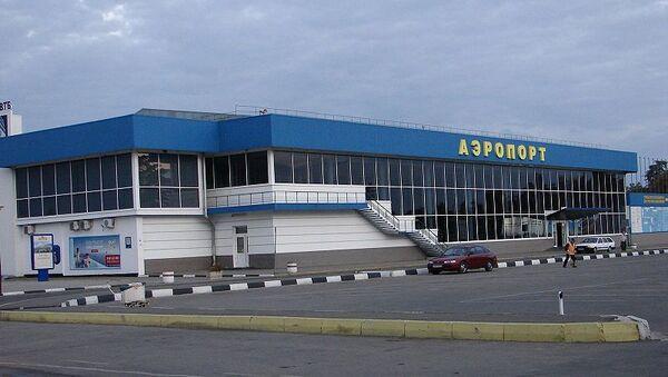 Международный аэропорт Симферополя, архивное фото