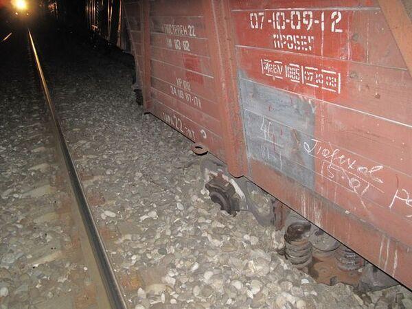 Подрыв железной дороги в Махачкале