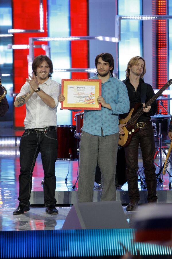 Музыкальный коллектив Петра Налича представит Россию на Евровидении-2010