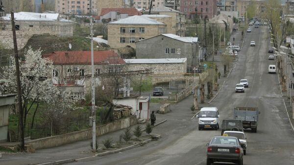 Город Степанакерт, Нагорный Карабах. Архивное фото