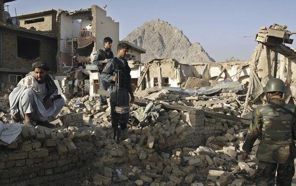 Последствия теракта в Кандагаре