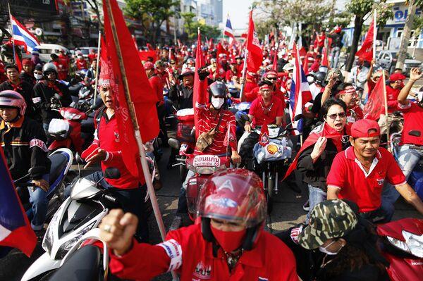 Беспорядки в Таиланде