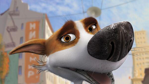 Звёздные собаки Белка и Стрелка - мультфильм