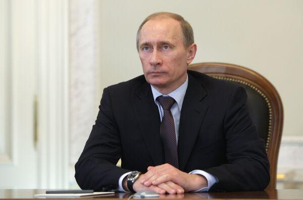 Премьер-министр России В.Путин. Архив