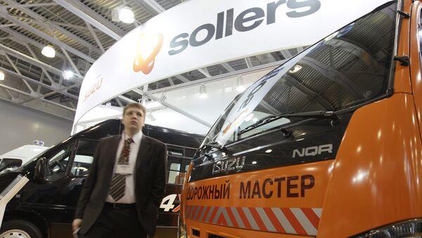 Продажи Sollers в январе-сентябре выросли на 33% - до 55,52 тыс штук