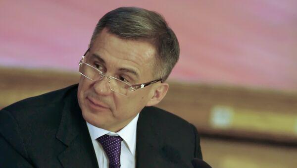 Президент Татарстана Рустам Минниханов, архивное фото