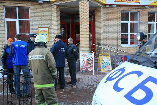 Взрыв в кафе в Перми
