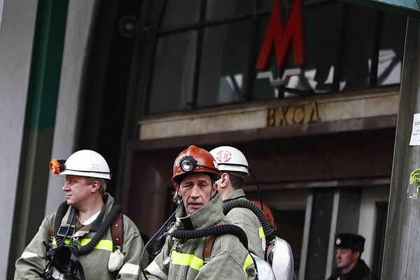 Взрыв на станции метро Лубянка. 23 марта 2010 года