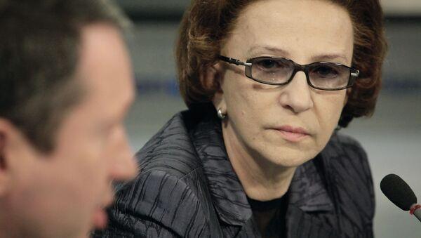Тамара Морщакова. Архивное фото