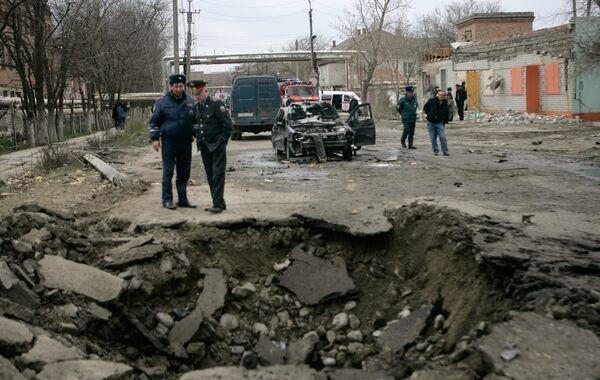 В Кизляре прогремели два взрыва