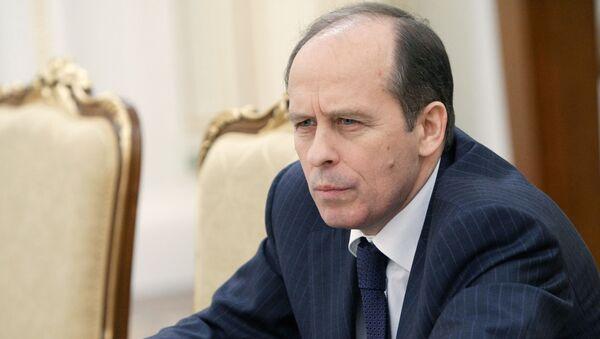 Глава Федеральной службы безопасности Александр Бортников. Архив