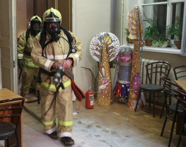 Пожарная проверка. Архив