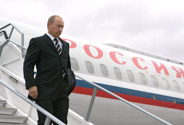 Путин прибыл в Копенгаген, где встретится с королевой Маргрете