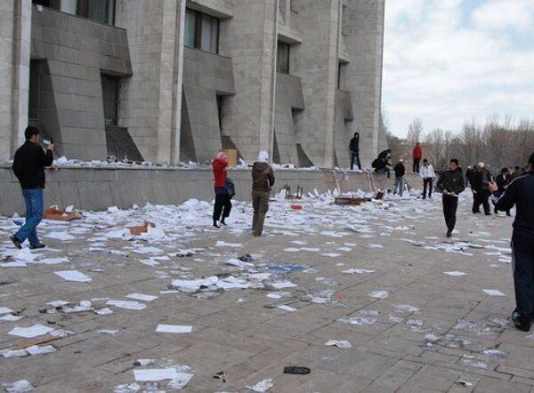 Беспрядки в Бишкеке. Архив
