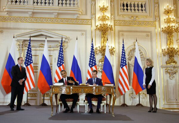 Дмитрий Медведев и Барак Обама подписали новый договор по СНВ