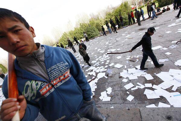 Беспорядки в Киргизии. Архив