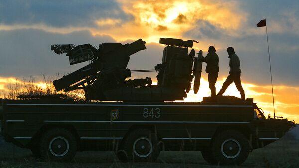 Тактические учения в Брестской области