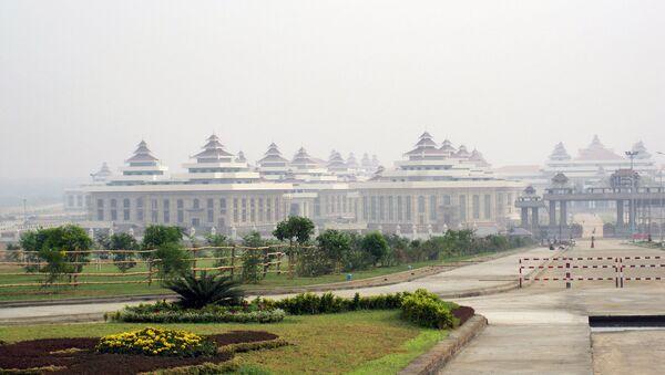 Новый парламент Мьянмы в столице г. Нейпьидо