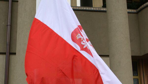 Флаг Польши. Архив