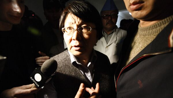 Глава временного правительства Киргизии Роза Отунбаева. Архивное фото
