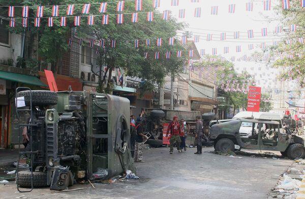 Массовые беспорядки в Бангкоке