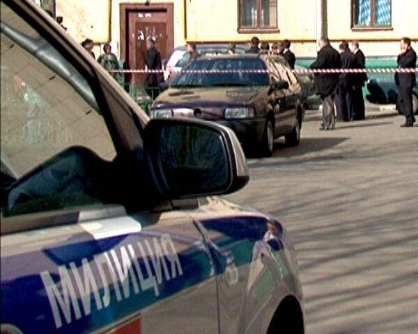 Судья Чувашов убит в подъезде своего дома. Видео с места преступления