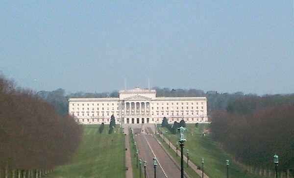 Стормонт - резиденция Североирландской Ассамблеи и правительства Северной Ирландии. Архивное фото