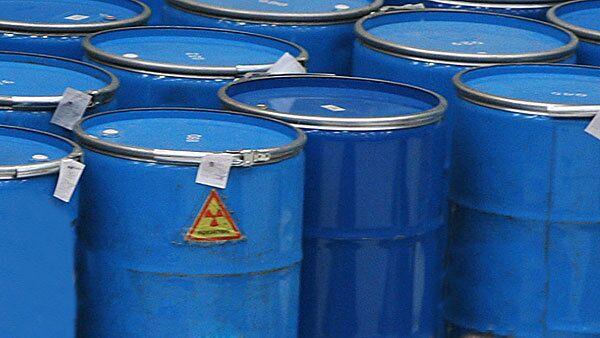 Ядерные отходы. Архивное фото