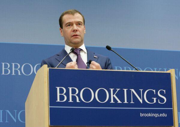 Дмитрий Медведев встретился с представителями общественных, академических и политических кругов США