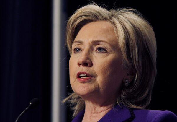 Хилари Клинтон на саммите по вопросам ядерной безопасности в Вашингтоне