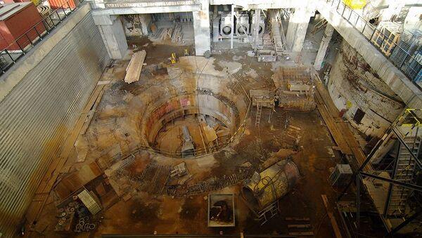 После аварии на Саяно-Шушенской ГЭС. Архивное фото