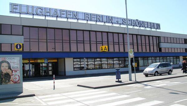 Берлинский аэропорт Шенефельд