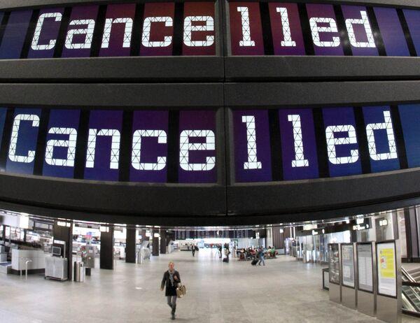 В аэропорту Цюриха