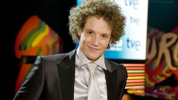 Представитель Испании на Евровидении-2010 Даниэль Дигес