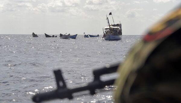 Ситуация в Аденском заливе. Архив