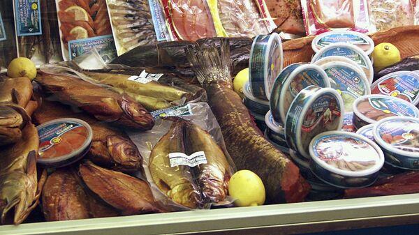 РФ в 2009 г вдвое увеличила экспозицию на рыбной выставке в Брюсселе