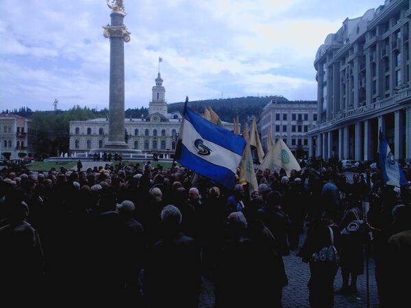 Акция оппозиции в Тбилиси. Архив