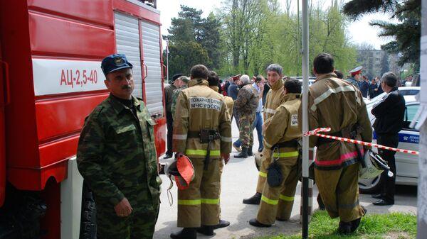 Взрыв произошел на ипподроме в Нальчике