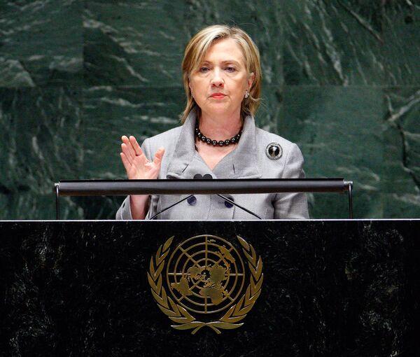 Хиллари Клинтон на Конференции по ДНЯО в штаб-квартире ООН