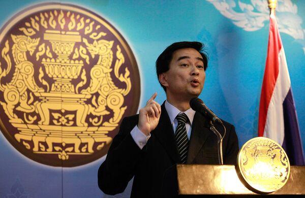 Премьер-министр Таиланда Апхисит Ветчачива