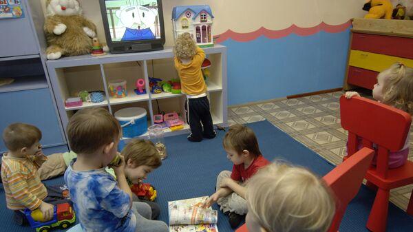 Работа частных детских садов. Архивное фото