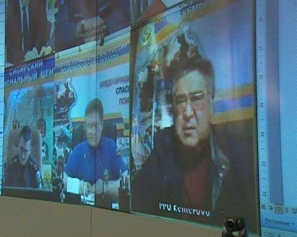 Аман Тулеев доложил Путину о ситуации на шахте Распадская