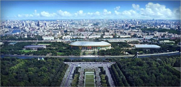 Стадион Москва Лужники. Архив