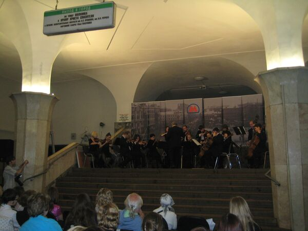 Шостакович и гимн метро звучали в московской подземке в Ночь в музее