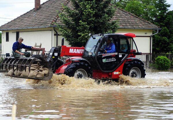 Наводнение в Венгрии
