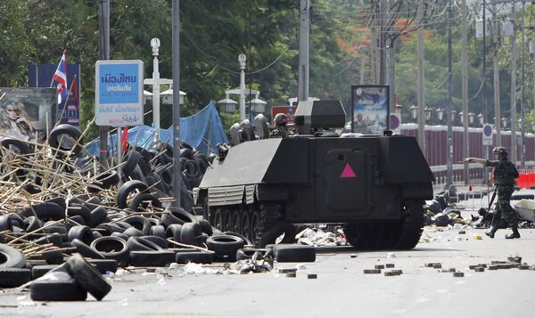Беспорядки в Бангкоке